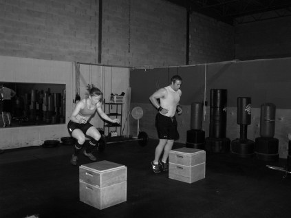 Box jumps area CrossFit staple that require some dedicated practice!